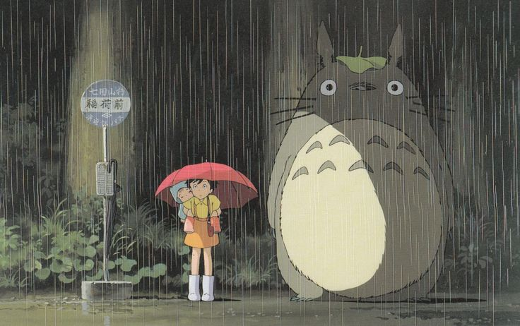 "Totoro is the ""ideal lover"" according to a Japanese poll"
