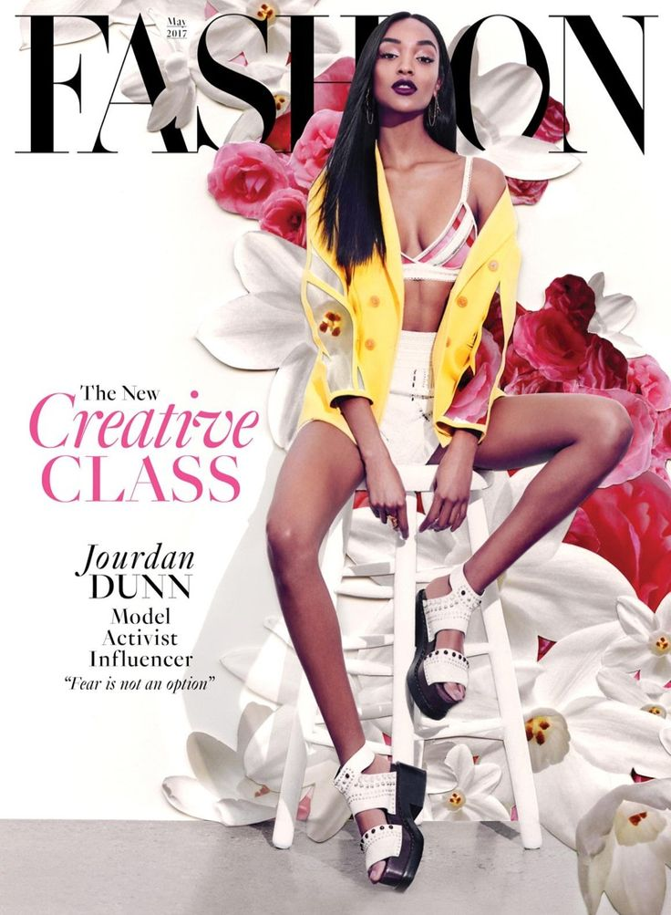 Jourdan Dunn on FASHION Magazine May 2017 Cover