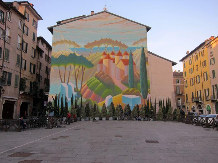 murales in Brescia , italy www.dallolio.it