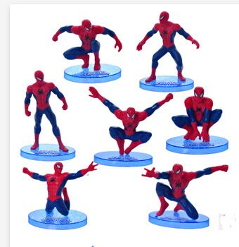 5 sets of 9 pcs/set The Amazing SpiderMan 2  8-16cm Action Figures Toy,  Spider man PVC Figure Doll, toys for kids,marvel toys #Affiliate