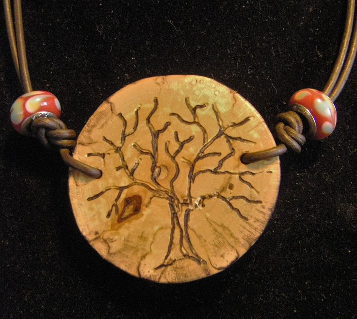Tree etched on spalted maple tree slice. more info > Doug carvededge@gmail.com