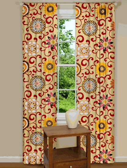 Pom Pon Play Curtains- this site has CUTE curtains!!