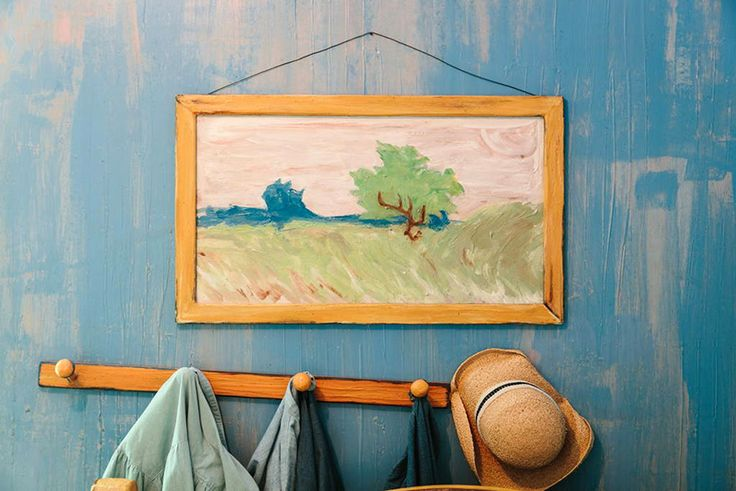 Sleep in a Van Gogh Painting: Re-creation for Rent on AirBNB
