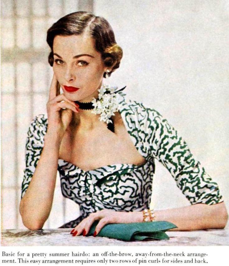 Abkürzungen: So erstellen Sie 3 Vintage-Frisuren aus dem Jahr 1950 - #create #hairstyles #short #vintage - #vintagehairstyle