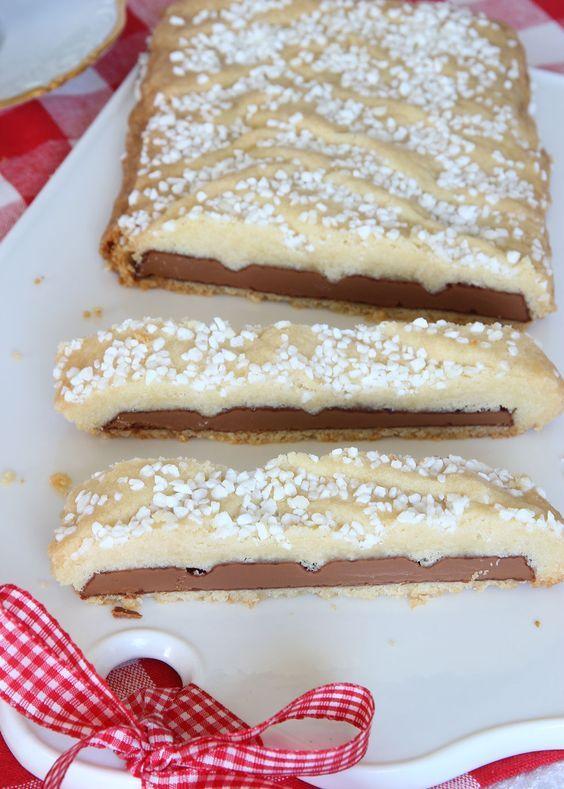 Mördegsinbakad mjölkchoklad – Lindas Bakskola