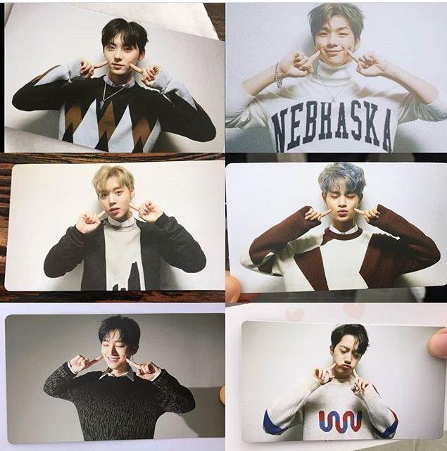 Wanna One photo card -  Premier fancon in Seoul