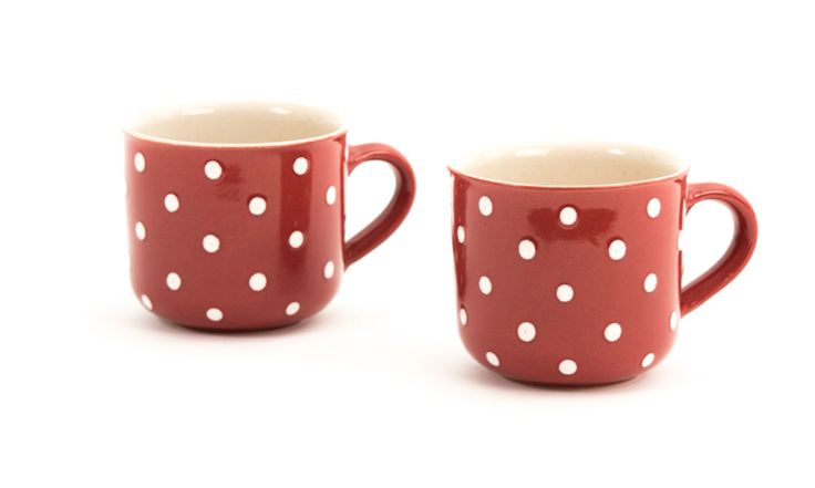 extra gro e kaffeetasse teetasse jumbo tasse rot weiss 0 5 l red and white polka dots. Black Bedroom Furniture Sets. Home Design Ideas
