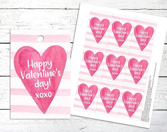 Happy Valentines Day Tags. Valentines Day. Love Tags. Heart