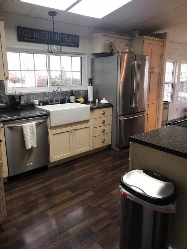 1984 Double Wide Manufactured Home Remodel Is Farmhouse
