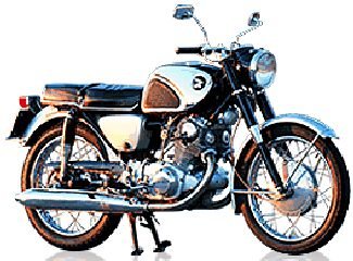 Honda Super Hawk 305 CB77