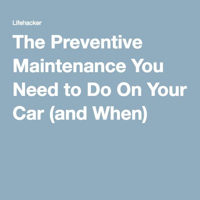 25 Best Ideas About Preventive Maintenance On Pinterest