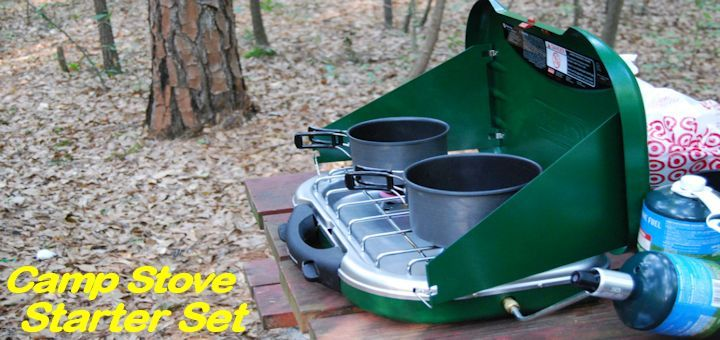 Best Camp Stove Starter Set-Up