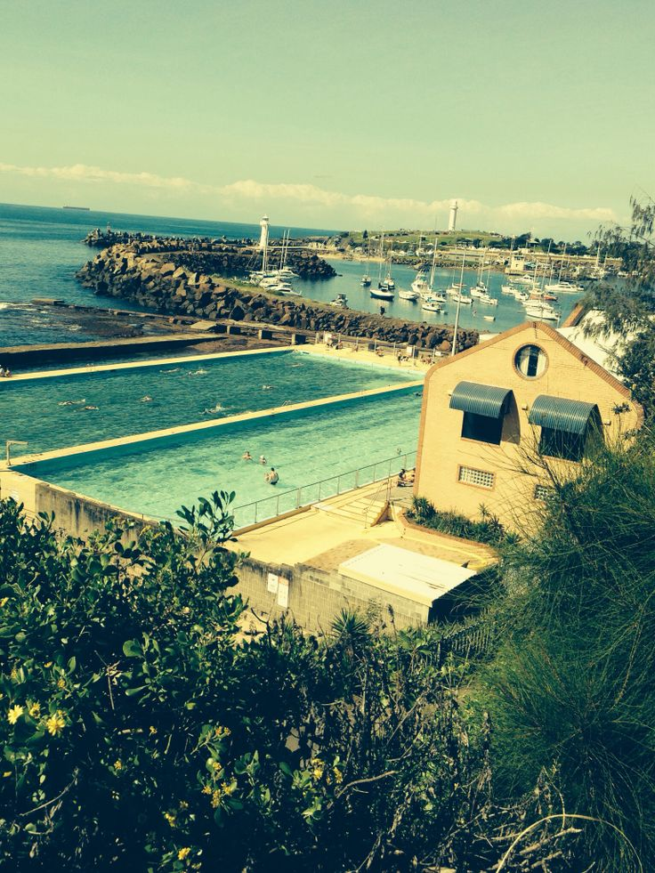 Swimming everyday at the continental pools in the gong. Love this pic