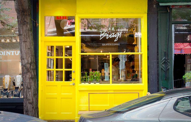 A.B. Biagi Store, NY (Coffee & Gelati store)