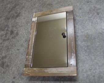 rustic medicine cabinets recessed | Popular items for medicine cabinet on Etsy