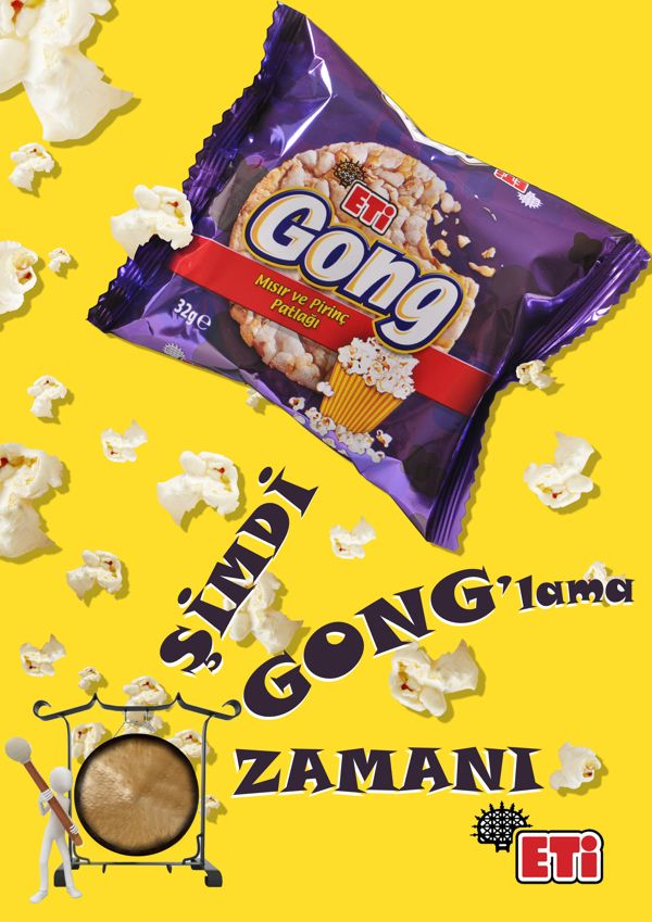 Gong Magazine Ad