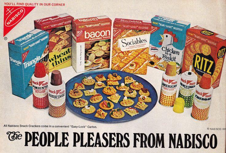 Vintage Food Ads: Nabisco Bacon Thins, Parmesan Fruit Salad, And Food Sticks