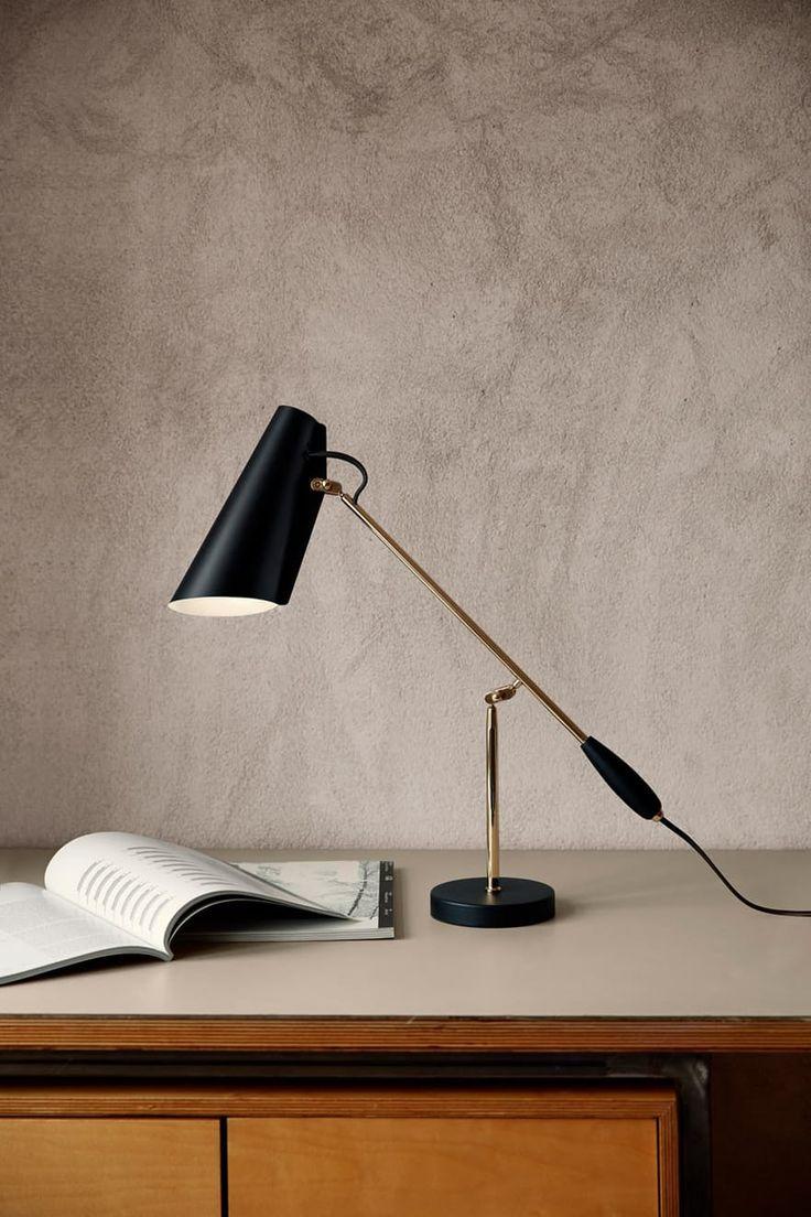 Lampen Birdie med mattskjerm, fra Northern Lighting
