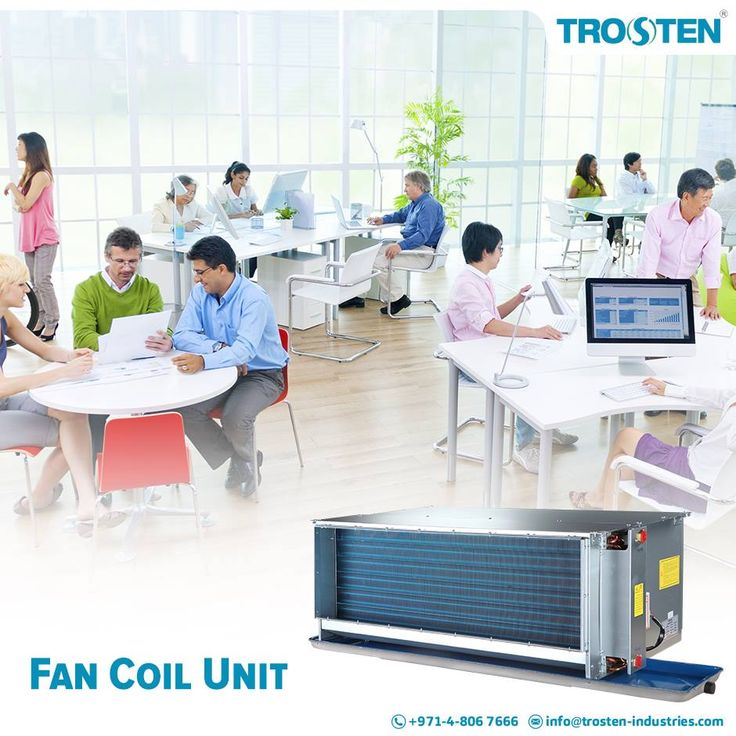 Trosten Industries, a fan coil unit manufacturer company having decades of experience in manufacturing and distribution of fan coil units, and with district cooling system.