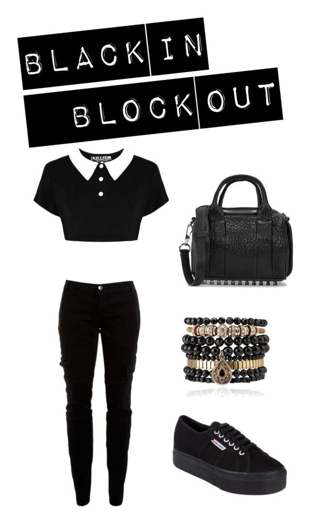 """""""All in black"""" by oriaps on Polyvore"""