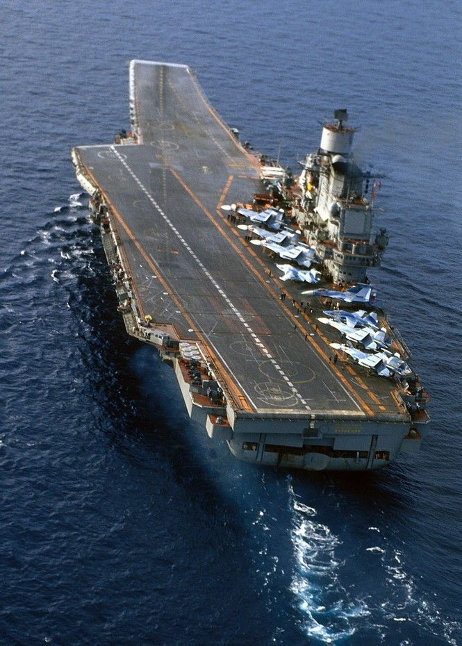 russian aircraft carrier admiral kuznetsov