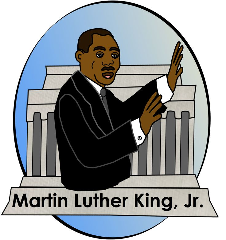 clip art martin luther king jr day - photo #1