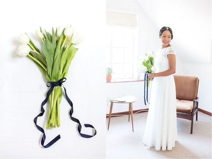 Tulip bridal bouquet | Wedding | Kenilworth & Groot Constantia | Cape Town