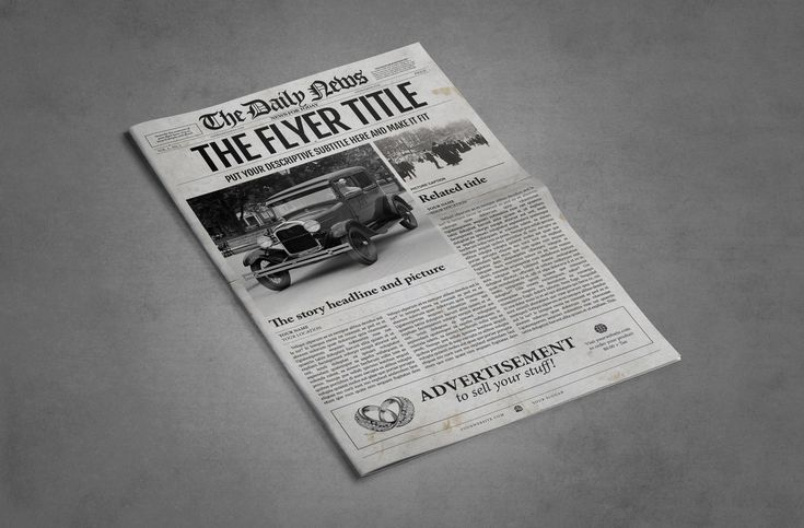 12 Best Old Fashioned Newspaper Template Images On Pinterest Role
