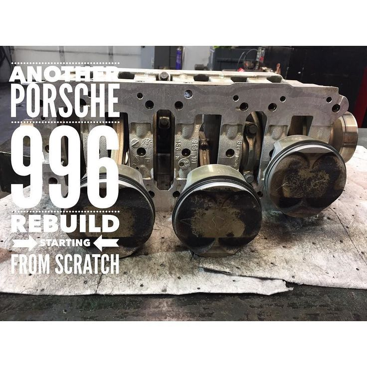 Porsche 996 Engine Timing Chain: We Have Another Porsche 996 With A Failed IMS Bearing And