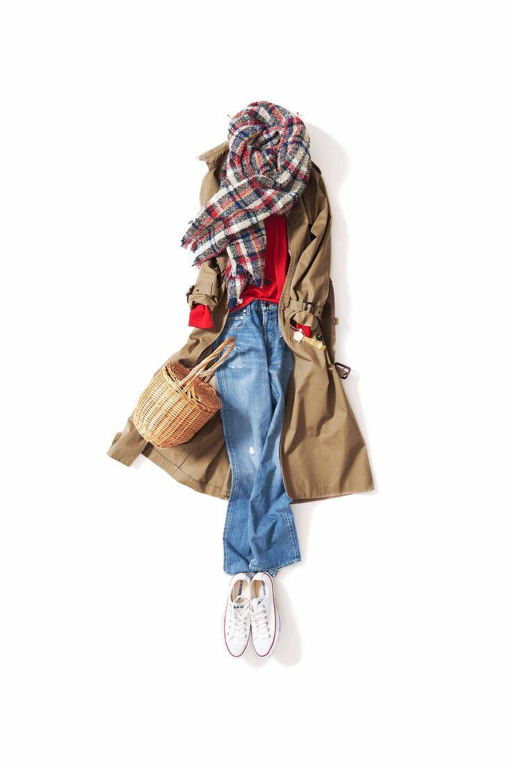 赤が着たい! / コーディネート詳細 / Kyoko Kikuchi's Closet | 菊池京子のクローゼット [ K.K closet ]