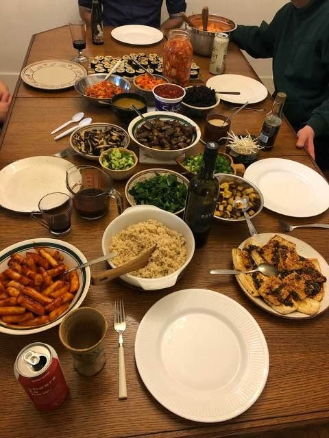 Hosted A Fully Homemade Vegan Korean Dinner Party For My
