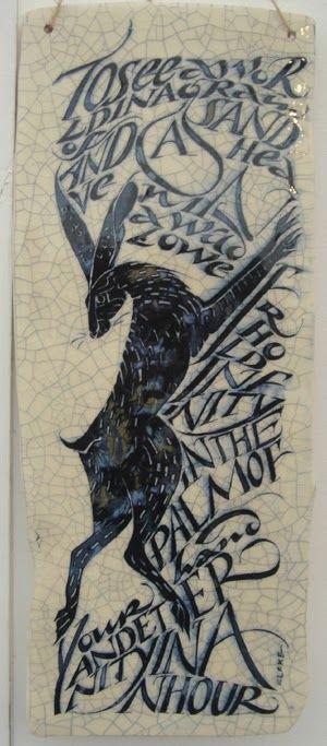 Iris Milward Hare Illustration.