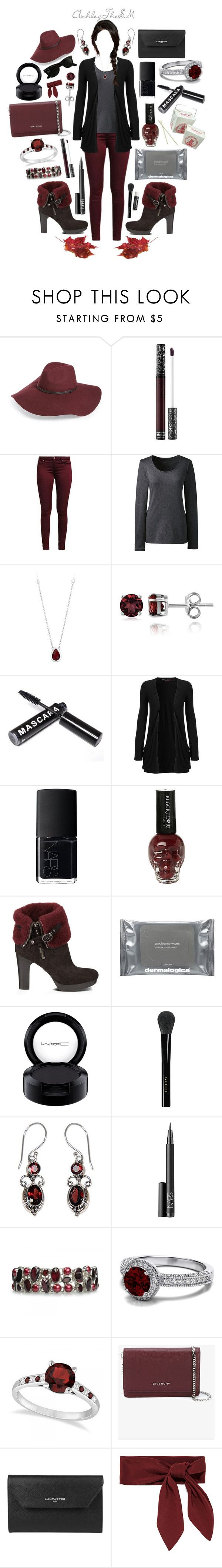 """{alternative} FALL fashion"" by ashleythesm ❤ liked on Polyvore featuring Halogen, Kat Von D, Lands' End, Glitzy Rocks, WearAll, NARS Cosmetics, UGG Australia, Dermalogica, Chapstick and MAC Cosmetics"