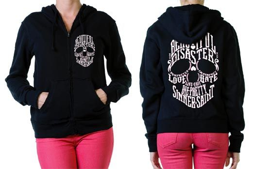 Bella Disastre Women's Hoodie SubCulture Clothing Store