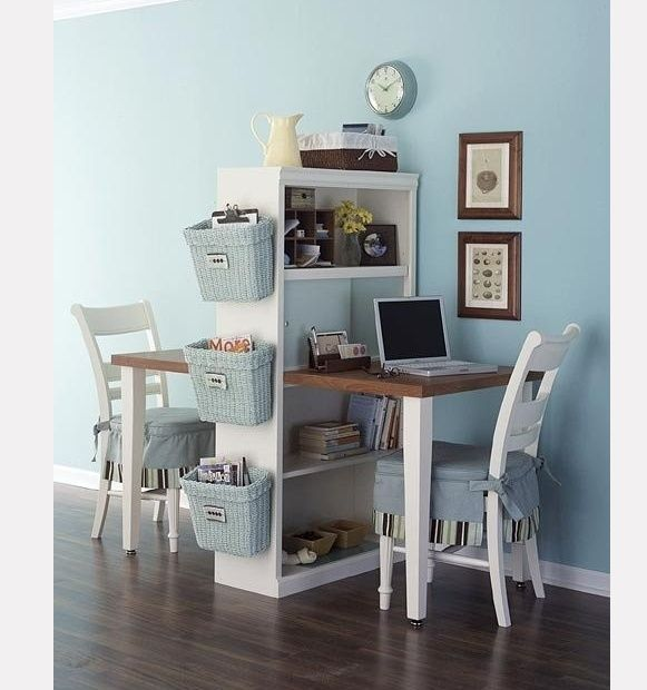 Kids Study Area Ideas: Great Idea For A Kids Study Area With Limited Space