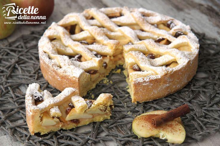 Questa ricetta della crostata di mele è proprio come quella che preparava Nonna Papera nei fumetti di Topolino che metteva a raffreddare sul davanzale att