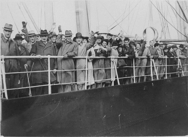 Before WWII broke out, the captain of the SS St. Louis, Captain Gustav Schröder attempted to find a safe place for his Jewish passengers to find refuge. They were denied entry from Cuba and the United States before they reached Canada. Unfortunately, they were met with similar results.