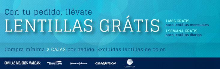 Lentillas gratis ¡sí, GRATIS! en Opticalling