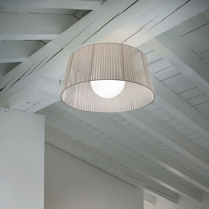 Similarly, the Ribbon Collection takes the traditional lamp shade and gives it a new look.