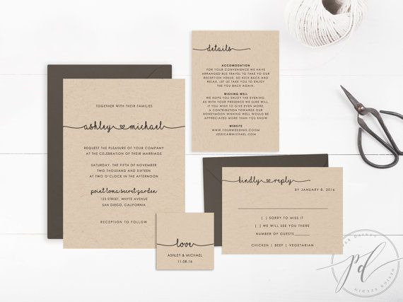 65 best Bryllupsinvitationer images on Pinterest | Invitation ideas ...