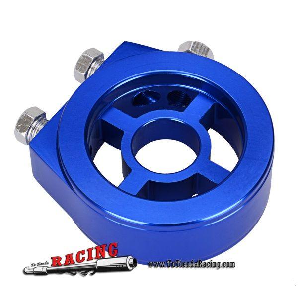 17,12€ - ENVÍO SIEMPRE GRATUITO - Adaptador Soporte para Marcador Medidor de presión de Aceite para Coche Universal Tuning Racing - TUTIENDARACING