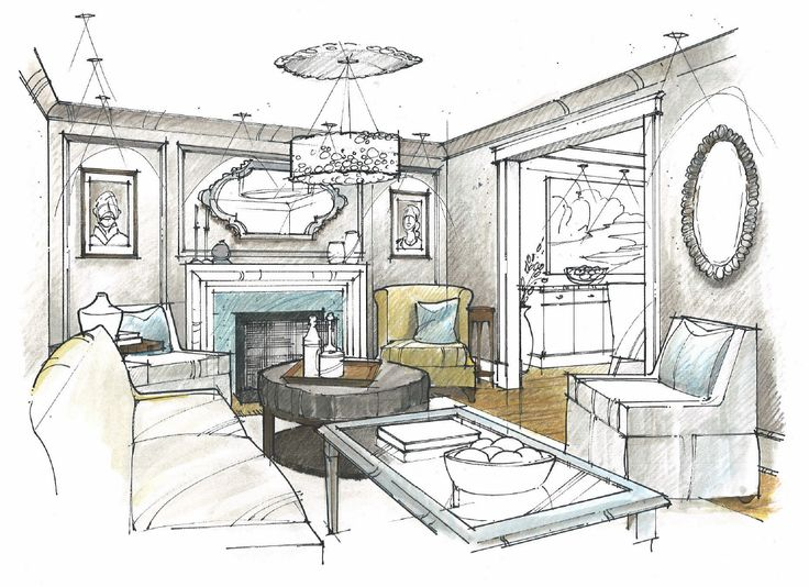 Jayson koback drawing techniques pinterest sketches for Interior design drawing tips