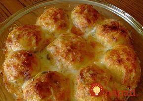 Vynikajúce a skutočne rýchlo jedlo zo zemiakového cesta, šunky, syra a smotanovej omáčky. Za pár minút na vašom stole!