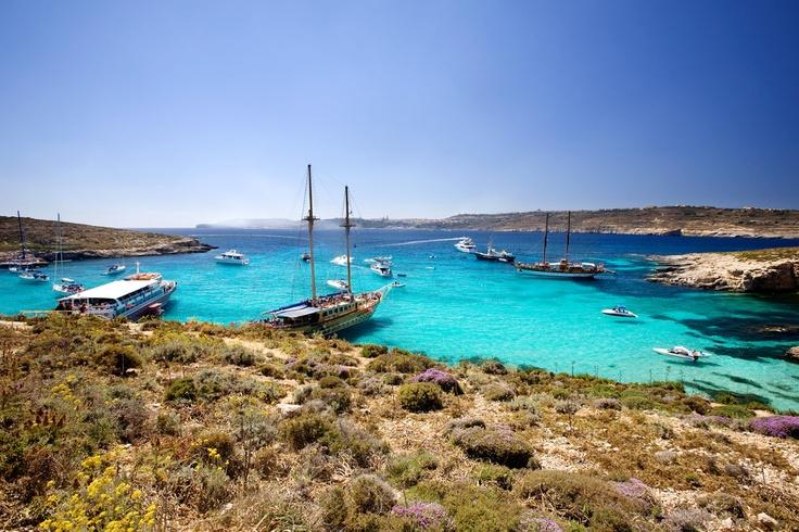 Malte - Le lagon de Comino