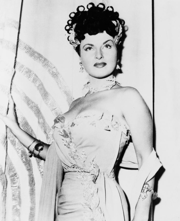 "Silvana Pampanini. Promotional photo for Mario Soldati's ""O.K. Nerone"" (English title: ""O.K. Nero!"", 1951)."