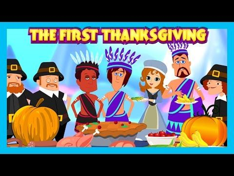 The First Thanksgiving English Story For Kids    The Story Of Thanksgiving - YouTube