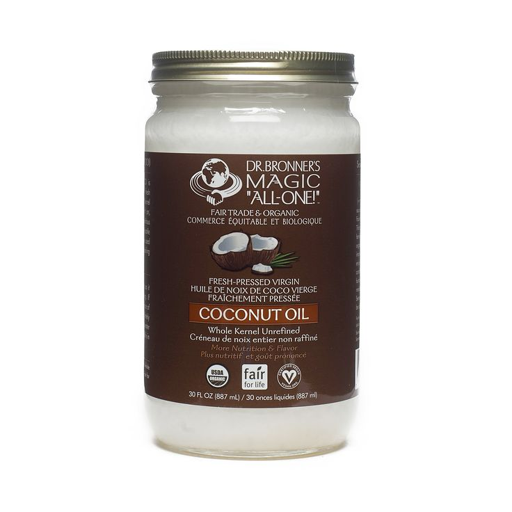 Shop Dr. Bronner's Organic Fair Trade Virgin Coconut Oil at wholesale price only at ThriveMarket.com