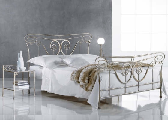 Lotte romantische slaapkamers • 180cm Ledikanten - IJzeren bedden ...