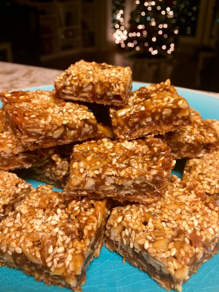 Toffee Almond Treats