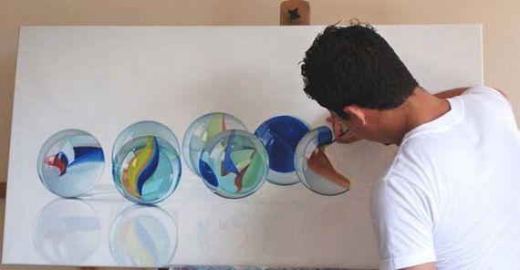 Rudy Taveras Photorealistic Painting